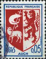 2911 Mi.Nr.1534 Frankreich (1966) Wappen Gestempelt - Usati
