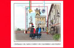 Nuovo - MNH - ITALIA - 2021 - 100 Anni Del Distaccamento Dei Carabinieri A San Marino - Carabiniere E Gendarme - B - Hojas Bloque