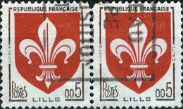 2960 Mi.Nr.1274 Frankreich (1960) Wappen Gestempelt - Usati