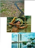 BRESIL / Lot 59 C.P.M écrites - 5 - 99 Cartoline