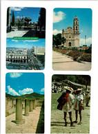 MEXIQUE / Lot 75 C.P.M écrites / Petits Formats - 5 - 99 Cartoline