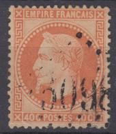 FRANCE CLASSIQUE : EMPIRE LAURE N° 31 OBLITERATION GC 5098 SMYRNE - 1863-1870 Napoleone III Con Gli Allori