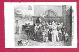 MOEURS Et COUTUMES De L'ANCIEN PARIS.. La Laitière.. Lithographie De BOILLY (1826)  .. édit ND 409 - Loten, Series, Verzamelingen