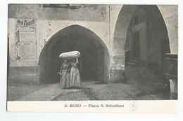 Italie San Remo Piazza S.Sebastiano  Animée - Andere