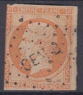 FRANCE CLASSIQUE : EMPIRE N° 16 OBLITERE CEM B CORPS EXPEDITIONNAIRE DU MEXIQUE - 1853-1860 Napoleone III