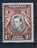 KUT 1938 RE GIORGIO V  -  VALORE  1 CENT NUOVO ** - Kenya, Uganda & Tanganyika