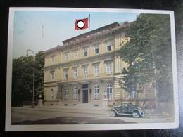 Postkarte Braunes Haus München - Brieven En Documenten