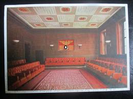 Postkarte Braunes Haus München - Text über Hitler - Brieven En Documenten