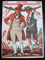 Postkarte Oktoberfest München 1935 - Brieven En Documenten