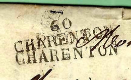 RARE LETTRE IMPRIMERIE LIBRAIRIE 1825 Ecole D'Alfort (Ecole Vétérinaire) => Oudot Pars Libraire IMPRIMEUR V. HISTORIQUE - 1800 – 1899