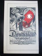 Sehr Frühe NS Postkarte - Nur Vorderseite Von Klappkarte - Um 1923 - Brieven En Documenten