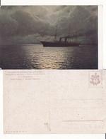 Russia,Russie,Ukraine-Russian Art  - Artist Signed Kalmikow  -Painting-Ship - Rusland