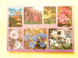 V11-A-38--flor De Montagne-lupin-doronics Pavot Chardon Gentianes-edelweiss-rhododendrons - Sin Clasificación