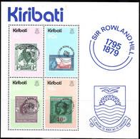KIRIBATI    SCOTT NO 344A  SHEET   MNH     YEAR  1979 - Kiribati (1979-...)