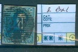 1 Bxl Obl Côte 60€ - 1849 Epaulettes