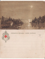 Russia,Russie- Types- Russian Artist-Croix Rouge,Red Cross - Rusland