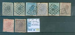 17,17a,18,18a,18b,19-20-21 Côte 230€ - 1865-1866 Linksprofil
