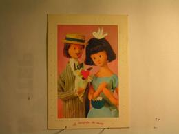 Illustrateurs - Signés - Les Amoureux De Peynet - Faire Le Joli Coeur - Peynet