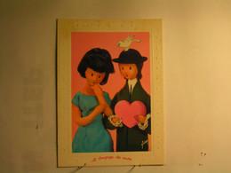 Illustrateurs - Signés - Les Amoureux De Peynet - Avoir Le Coeur Gros - Peynet