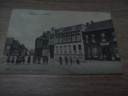 Mouscron Herseaux La Place Année 1911 (timbre) - Mouscron - Moeskroen