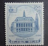 BELGIE  1936     Nr. 437   Zegel Uit Blok 6    Postfris **    CW 60,00 - Nuovi