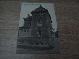 Mouscron Herseaux La Villa Les Roses Oreux Année 1907 (timbre) - Mouscron - Moeskroen