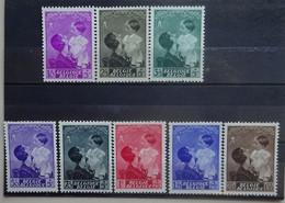 BELGIE  1937     Nr. 447 - 454   Postfris **    CW 45,00 - Nuovi