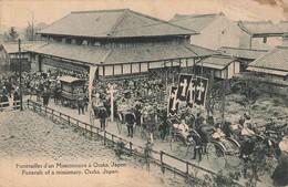 OSAKA : FUNERAILLES D'UN MISSIONNAIRE - Osaka