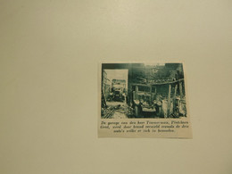 """Origineel Knipsel ( E 709 ) Uit Tijdschrift """" De Stad """" 1936 :   Gent    Gand   Brand - Sin Clasificación"""