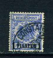 GERMAN PO'S IN TURKEY  - 1889  Reichspost Definitive 1p On 20pf Used As Scan - Offices: Turkish Empire