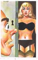 Illustrateur  Humour Louis Carriere A SYSTEME Pin Ups N° 2100A 2° VERSION - Carrière, Louis