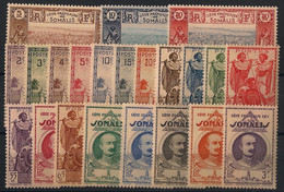 Côte Des Somalis - 1938 - N°Yv. 148 à 169 - Série Complète - Neuf Luxe ** / MNH / Postfrisch - Neufs