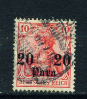 GERMAN PO'S IN TURKEY  - 1905-12 Germania Deutches Reich Definitive 20p On 10pf Used As Scan - Offices: Turkish Empire