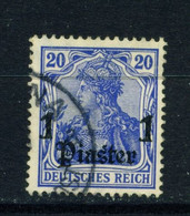GERMAN PO'S IN TURKEY  - 1905-12 Germania Deutches Reich Definitive 1p On 20pf Used As Scan - Offices: Turkish Empire