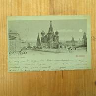 Moscou Basilique 1901 - Rusland