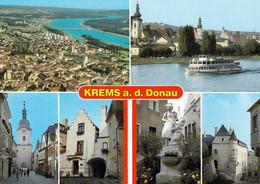 2 AK Niederösterreich * Krems An Der Donau U.a. Stein-Krems, Steiner Tor, Stadtmitte, Göglhaus, Alte Post, Wegscheid * - Krems An Der Donau