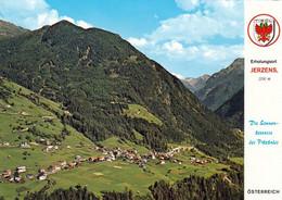 1 AK Österreich / Tirol * Blick Auf Jerzens Im Pitztal - Luftbildaufnahme * - Pitztal