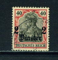 GERMAN PO'S IN TURKEY  - 1905-12 Germania Deutches Reich Definitive 2p On 40pf Used As Scan - Offices: Turkish Empire