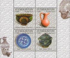 Uzbekistan 2015, Ceramics, MNH S/S - Uzbekistán