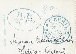 R.P. PARATO - 30 - CAPRILE 25 Mars 1944 - CP Caprile Monte Civetta - Marcofilía