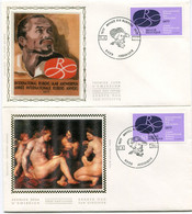 1977 2 X  FDC  Rubens Paintings With Stamps Catnr 1838 - 1971-80