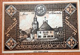 GERMANY :   NOTGELD STADT LAUCHSTEDT 10  PFENNIG 1919 - [11] Emissions Locales