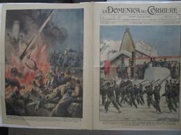 # DOMENICA DEL CORRIERE N 6 / 1934 LITTORIALI A CORTINA / LE DONNE PALOMBARO / DUCE A TERMINILLO - Prime Edizioni