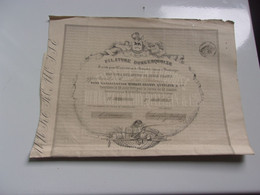 FILATURE DUNKERQUOISE (1861) - Unclassified