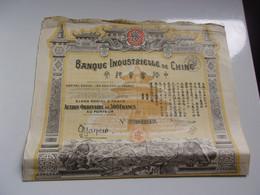 BANQUE INDUSTRIELLE DE CHINE - Unclassified