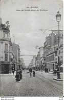 51-3 - REIMS - RUE DE VESLE PRISE DU THEATRE - Reims
