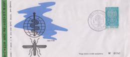 Enveloppe  FDC  1er  Jour   COTE  FRANCAISE  DES   SOMALIS    Eradication  Du  Paludisme  Malaria   1962 - Enfermedades