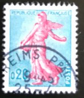 France - République Française - W1/13 - (°)used - 1960 - Michel 1277 - La Semeuse - Zaaister - Reims - Usati