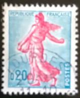 France - République Française - W1/13 - (°)used - 1960 - Michel 1277 - La Semeuse - Zaaister - Lourdes - Usati
