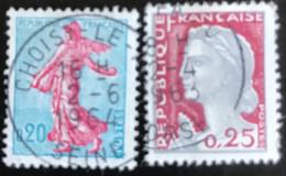 France - République Française - W1/13 - (°)used - 1960 - Michel 1277-1316 - La Semeuse - Marianne Type Decaris - Usados